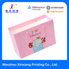 New Design Promotional Cheap Pink Paper Tote Carry Bag