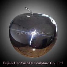 Apple Decor Stainless Steel Statue /sculpture