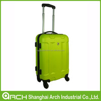 Bright color ABS+PC abs luggage, trolley case, suitcase