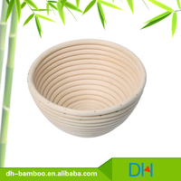 Handmade Round Bamboo/rattan/wicker bread baskets tableware storage basket