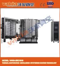 Vertical plastic metalizing equipment
