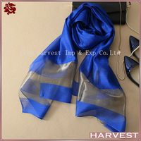New arrival design beautiful style silk scarf 40x40
