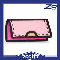 ZOGIFT OEM canvas coin purse/women handbag