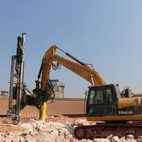HENR 90A Excellent Mobility Blasthole Hydraulic Drifter Drill