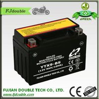 china suppliers sealed lead acid maintenance free motorbike battery 12 volt 9amp