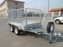 7x4 Box trailer with 600mm cage