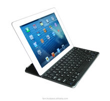High Quality Aluminum Bluetooth Keyboard for iPad 2/3/4 - 3 in 1 - iPad Wireless Keyboar with stand, Cover and Stand
