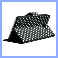For Samsung Galaxy Note 2 II N7100 Polka Dot Wallet Leather Stand Cover Case