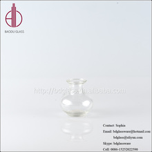 Brand new clear reversible trumpet glass vase clear reversible trumpet glass vase with great price