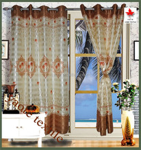 cheap wholesale Home decoration strpe window curtain of printing