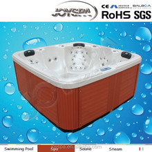 Comfortable Lounger & Seats CE Portable Balboa Hot Tub for Big Size People(factory) spa tube