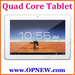 China 10inch QuadCore tablet computer Android 4.4 kitkat build-in Bluetooth Wifi Camera HD Screen