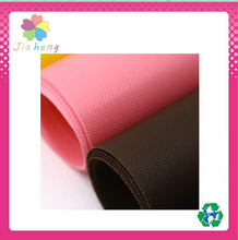 Colorful dot and cross 100% Polypropylene spunbonded nonwoven fabric for shopping bag making material