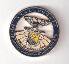 Promotional Fashion Embossed Eagle Brass Gloden Badge Emblem For Souvenir