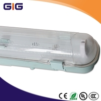 T5 lamp 28W Clear PC Diffuser IP65 Fluorescent waterproof light fixture