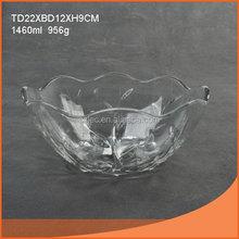 Super quality useful glass bowl art