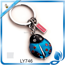 metal beetle key chain