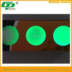 2015 bulk cheap custom design LED golf ball , golf flash ball,practice golf ball
