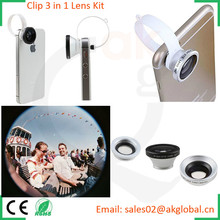2015 hot photo lens photography equipment camera lens kit for iphone 5s 6 plus samsung s6 htc m7 m8
