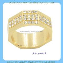fashion crystal new design ladies finger ring