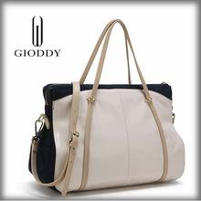 Custom Fashion Design High Quality White Leather Handbags