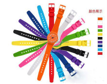 printing pvc plastic quartz watch