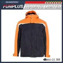 solid color garment dyed windproof waterproof boys ski coat jacket