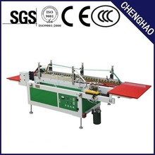 square box folding and gluing machine