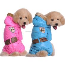 Hot Sale Pet Dog Coat pet winter clothes Pink Blue 2 colors Dog Waterproof Coat