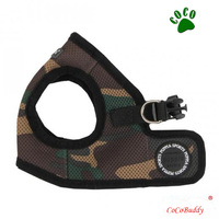 Camo Soft step Airmesh Dog Cat Step in Soft Harness Vest Chihuahua Yorkie Jacket coll