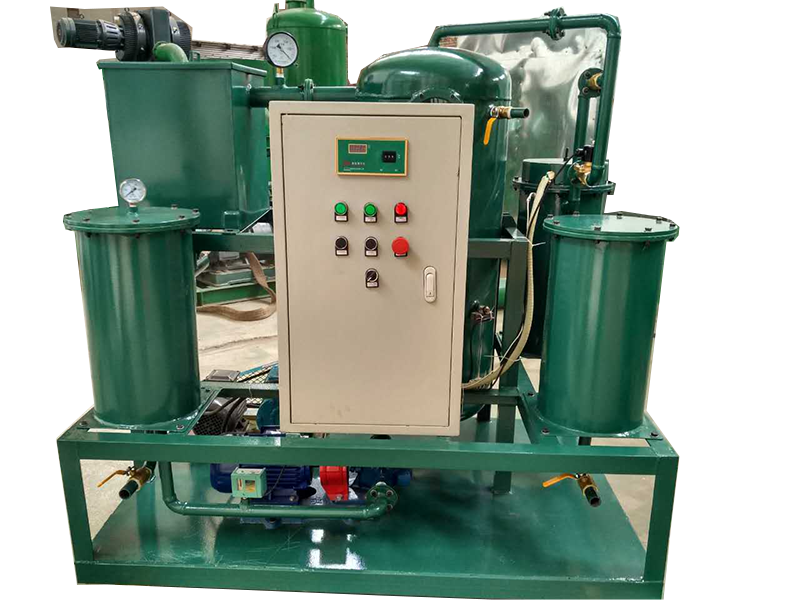lubricating oil recycle system