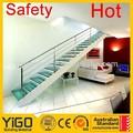 Interior abierta riser escaleras / de metal de acero inoxidable escalera