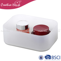 2 kinds Eco-Friendly home storage organization Plastic PP Storage box with/ without lid cover