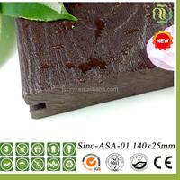 WPC decking flooring wood plastic composite wood grain embossed outdoor panel