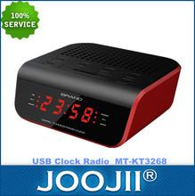 usb caliente del reloj de alarma de radio bluetooth witb