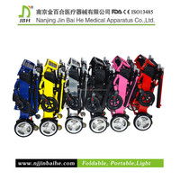 Foldable & Travelable Modern plastic component Wheel Chair