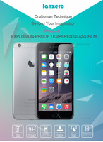 """Mobile phone use screen protector for iphone 6 4.7"""" /iphone 6 plus touch screen, tempered glass screen protector"""