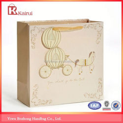 Competitive price factory supply shopping art paper bags