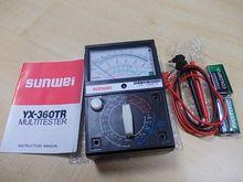 YX360TR high magnetic digital multimeter pointer analog multimeter