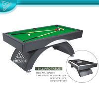 slate billiard tables with Arc leg design