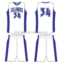 Stan Caleb wholesale blank youth basketball jerseys 2015 basketball jersey uniform
