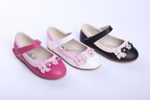 2015 new style unique flower girl shoes wholesale