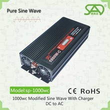 Hot sell pure sine wave inverter12v 24v solar power inverter battery inverter1000w 85% efficiency 50hz 60hz with CE single phase