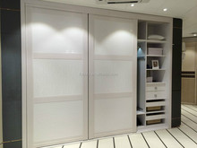 The newest white save space wall mount wardrobe closet