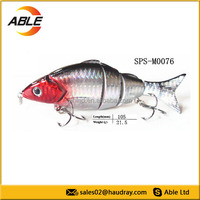 Factory Directly 5 section joint fishing lure,drop ship fish tackle wholesale