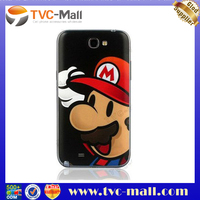 Wholesale N7100 battery cover,Slim Super Mario Back Cover Housing for Samsung Galaxy Note II N7100