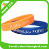 Personal shape cheap silicone bracelet Customized silicone bracelet wristbands
