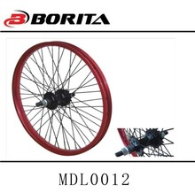 Borita 20 inch colored blue anodized road bike small spoke bicycle wheels and rims