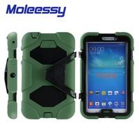 Hybrid shockproof 7 kids tablet case for Samsung Tab3/P3200/3201