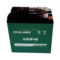 12v45AH sealed lead acid(SLA) rechargeable battery for e-bicycle